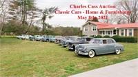 CHARLES & DARLENE CASS ANTIQUE CARS & HOUSE ESTATE