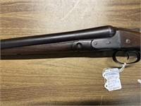 ANTIQUE PARKER 12 GA. DOUBLE BARREL SHOTGUN