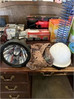 THOR-X LIGHT WITH CORD , CAMO HOOD & HARD HAT