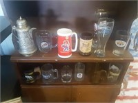 LOT OF VARIOUS GLASSES