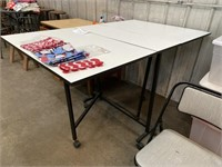 SEWING & CUTTING TABLE, 60x36x34""