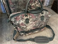 SUITCASE AND TRAVEL BAG