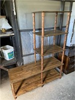"""WOODEN CABINET, 48x17x63"""""""