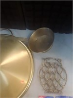 LOT OF BRASS DECOR ITEMS