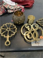BRASS DRIVERS & CANDLE HOLDERS