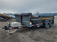 2021 Southland SL714-14K T/A Dump Trailer