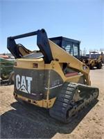 Cat 287B Track Skid Steer Full Enclosed Cab
