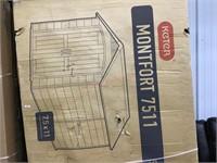 Keter Montfort shed 7.5 x 11 MSRP $2100.00
