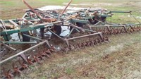 Flex King 35' 6 blade sweep plow
