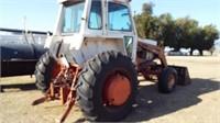 Case 1070 tractor/ Koyker K5 Loader