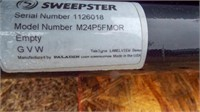Sweepster 5ft brush with grasshopper attachment