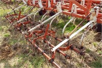 Wil-Rich 42' cultivator, tine harrow, 9'' sweeps