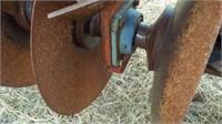 Miller 32' disk, gauge wheel,