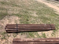 20- 8' x 2 3/8'' pipe