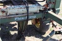 Flex-King 30' Sweep Plow w/ Chicken Picker