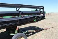 John Deere 930 Combine 30' Header w/ Trailer