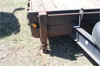 20' Heavy Equipment Trailer w/Ramps