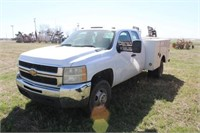 2007 Chevy 3500HD w/ Stahl Service Bed