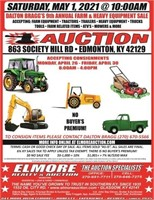 DALTON BRAGG'S FARM & HEAVY EQUIPMENT CONSIGNMENT SALE