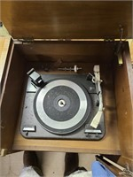 Fisher receiver & Fisher amplifier, old record