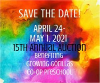 Growing Gorillas 2021 Online Auction