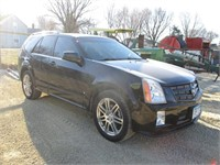 2008 CADILLAC SRX, WITH NEW BATTERY, WEATHER TECH