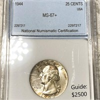 April 8th Cayman Islands Bank Hoard Rare Coin Sale P1