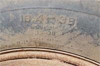 PAIR OF DAYTON 18.4 X 38 SNAP-ON T RAIL DUALS