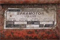 SPRAY MOTOR 3PTH 200 GAL SPRAYER - 20' BOOM