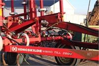 KONGSKILDE VIBRO-TILL 2800 24' HYDRAULIC FOLD