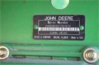 """JOHN DEERE 893 8R 30"""" CORN HEAD"""