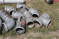 """QUANTITY OF ANDERSON MILLER 6"""" FITTINGS"""