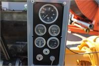 ISUZU 6 CYLINDER DIESEL ENGINE & PUMP - 1921 HOURS