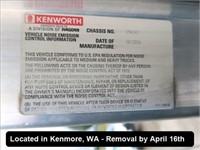 2007 KENWORTH T800B