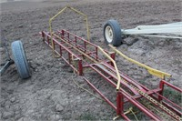 30' FORAGE KING BALE ELEVATOR COMPLETE WITH 3/4 HP