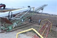 40' BALE ELEVATOR COMPLETE WITH 1 HP ELECTRIC