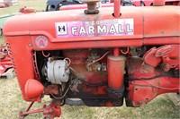 FARMALL SUPER 'A' TRACTOR -NOT RUNNING