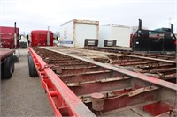 38' TANDEM AXLE FLAT BED TRAILER