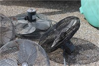"""6 - 22"""" & 26"""" FANS COMPLETE WITH MOTORS"""