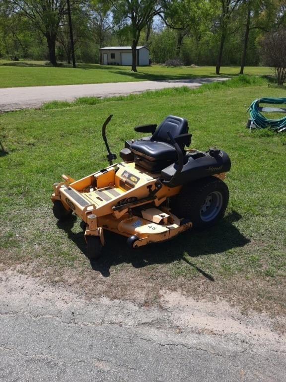 21 Hp Everride  Hornet zero turn mower runs and