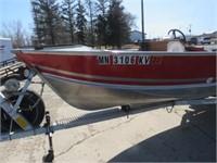 83 Lund Mr Pike 18ft. Alum. Boat Mercury 50HP