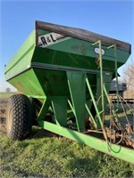 AL 600 bu grain cart