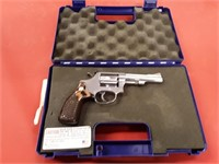 SMITH & WESSON 22LR REVOLVER MODEL#63 RED RAMP SGT