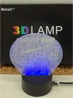 Metail 3D Lamp Fashion Life