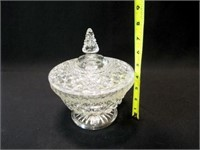"""Wexford Candy Bowl with Lid, 8"""""""