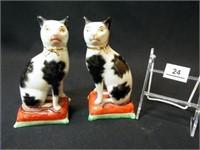 Staffordshire Ware Cats, England (2)