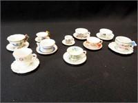 Saucers & Teacups, Mini (10)