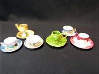 Saucers & Teacups, Mini, unmarked (6)