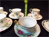 Saucers & Teacups - England (6)