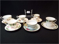 Saucers & Teacups - England (6)